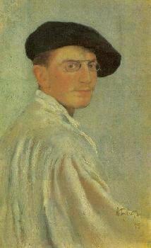 Портрет Льва Самуиловича Бакст