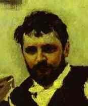 Портрет Константина Алексеевича Коровина