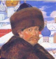 Портрет Бориса Михайловича Кустодиева