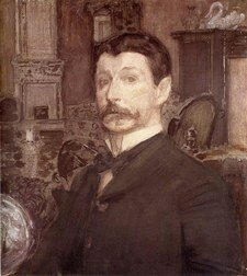 Портрет Михаила Александровича Врубель
